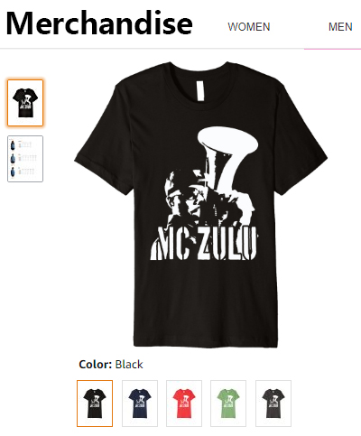 MC ZULU Merchandise